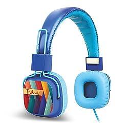Amkette Tango FDD737BL Trubeats Tango Wired Headphone (Blue)