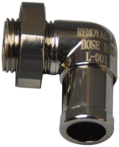 EZ (L-001) Silver Small 90 Degree Hose End (Drain Plug Valve compare prices)