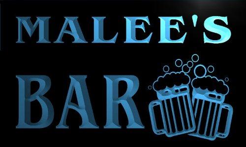 w120010-b-malee-name-home-bar-pub-beer-mugs-cheers-neon-light-sign