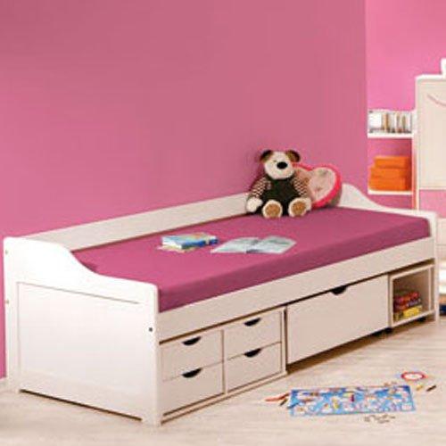 Multifunktions-Kinderbett SWEET Weiß inkl. Lattenrost günstig kaufen
