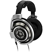 Sennheiser HD 800 Reference Dynamic Over-Ear Professional Headphones (Black/Silver)