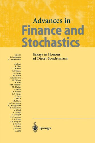 Advances in Finance and Stochastics: Essays in Honour of Dieter Sondermann (Advance Accounting Theory compare prices)