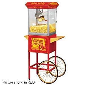 Imperial Industrial Supply FT860CR Carnival Style Popcorn Popper- Black
