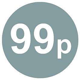 De 99p Pour - Paquet de 200 Argent 20mm Prix Stickers / étiquettes autocollantes - 40 Différentes prix pour Choisir de - Argenté 99p