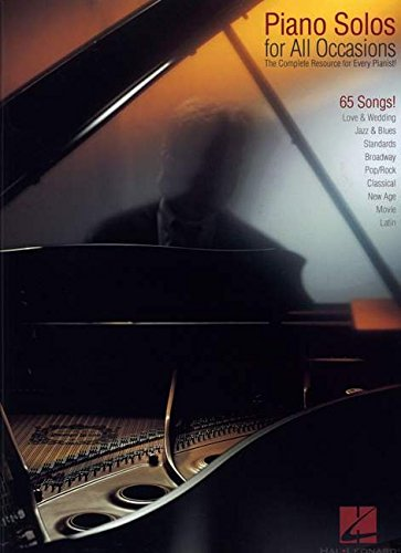 Piano Solos for All Occasions: The Complete Resource for Every Pianist! (Piano Solo Songbook) (Piano Movie Sheet Music compare prices)