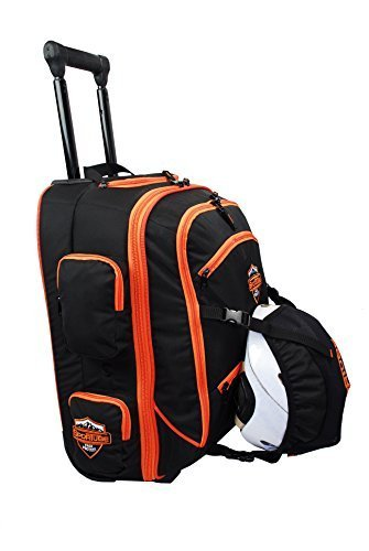 sportube-cabin-cruiser-wheeled-padded-carry-on-boot-bag-black-orange-by-highland-trading-co-inc