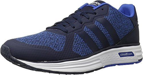 Adidas NEO Men's Cloudfoam Flyer Fashion Sneaker, Unity Ink/Collegiate Navy/Satellite, 10 M US