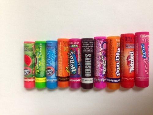 lotta-luv-10-pack-bulk-lip-balm-nerds-hersheys-twizzlers-reeses-jolly-rancher-bubble-yum-sweet-tarts
