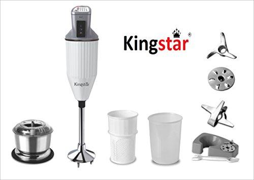 Kingstar Plastic Hand Blender Blend Pro Plus,White