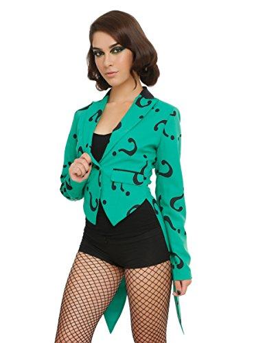 DC Co (Riddler Costume Girl)