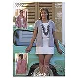 Sirdar Simply recycled Aran Knitting Pattern 9577
