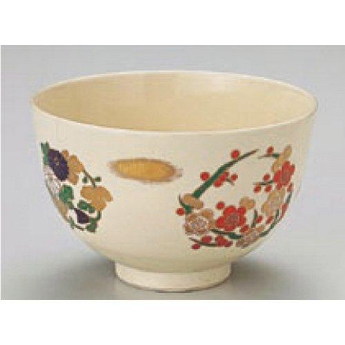 Teacup Kbu849-10-232 [4.93 X 3.15 Inch] Japanese Tabletop Kitchen Dish Matcha Bowl Marmont Shikunshi Powdered Green Tea Bowl [12.5 X 8Cm] Cafe Restaurant Tableware Restaurant Business Kbu849-10-232