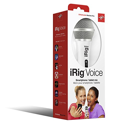 Ik Multimedia Irig Voice White