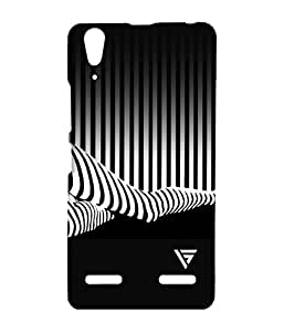Vogueshell Zebra Legs Printed Symmetry PRO Series Hard Back Case for Lenovo A6000