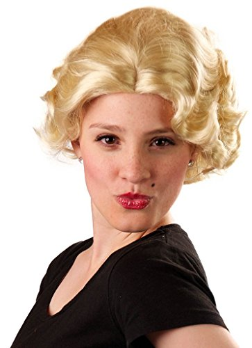 My Costume Wigs Women's Marilyn Monroe (Light Blonde) One Size fits all