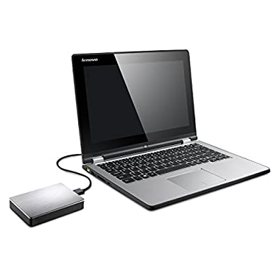 Seagate Backup Plus 4TB Portable External Hard Drive with 200GB of Cloud Storage USB 3.0, Silver (STDR4000900)