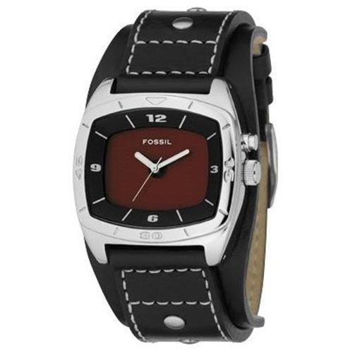 Fossil Men's AM3696 Kaleido Quartz Interchangeable Black/Red Dial Watch