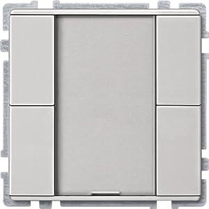 Merten 628146 Taster 2fach plus, Edelstahl, System Fläche  BaumarktKundenbewertung und Beschreibung