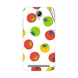 Garmor Designer Mobile Skin Sticker For Gionee Marathon M4 - Mobile Sticker