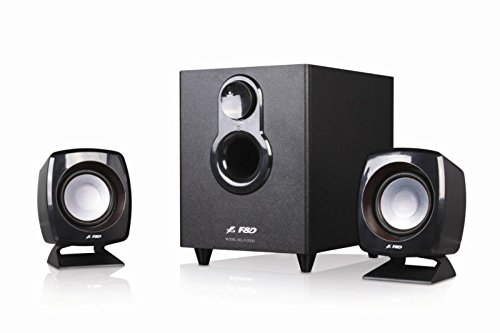 F&D F-203G 2.1 Speaker System (Black) By Amazon @ Rs.1,799