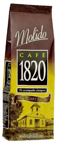 Cafe 1820 - Costa Rican Ground Coffee 17.5 Oz - 500 Grams