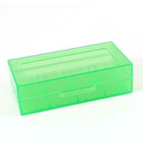 Vert Dur Boîtier En Plastique Boîte De Rangement pour 18670 18650 CR123A Piles