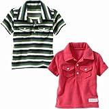 GAP (ギャップ)baby GAP ポロシャツ(ローズ・グリーン)【月齢:6ヶ月~1歳】(並行輸入品)
