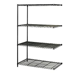 SAF5295BL - Safco Industrial Wire Shelving Add-On Unit