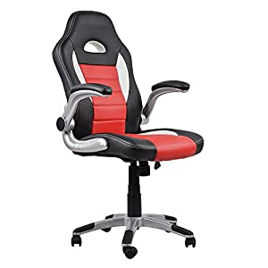 Homall Ergonomic Series Executive Computer Gaming Office Racing Style Swivel Chair with High Back,Seat Height Adjustment