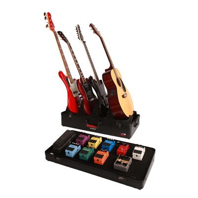 Gator G-Gig-Box-Tsa-El 4 Electric Guitar Stand And Pedal Board Gig Box