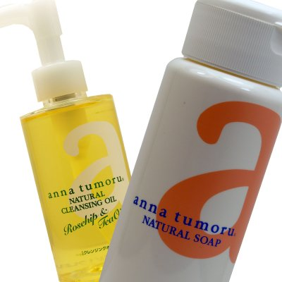 アンナトゥモール anna tumoru ナチュラルクレンジングオイル150ml +ナチュラルソープ 45g