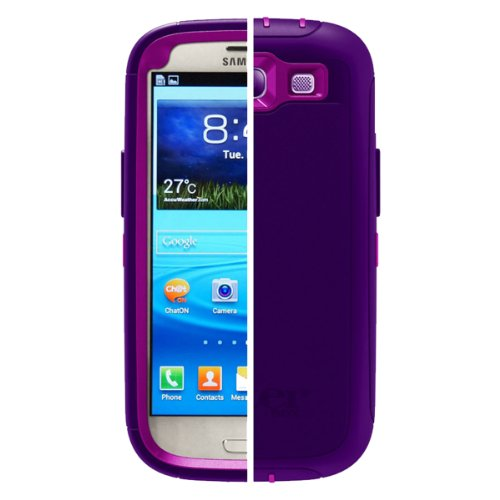 OtterBox Defender Series for Samsung Galaxy S III - Retail Packaging - Boom
