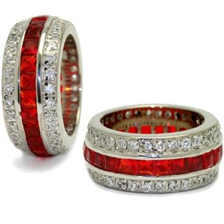 The Ruby Hollywood Fantasy Eternity Ring - 5