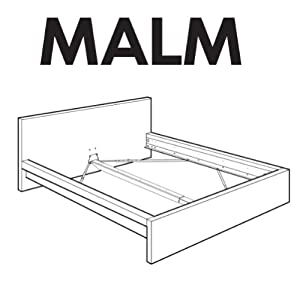 Amazon Com Ikea Malm Bedframe Replacement Parts Home