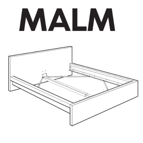 Ikea Malm Bedframe Replacement Parts $29 00 SaleSpider