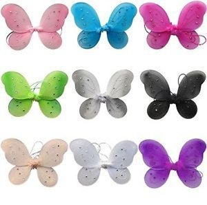 Lil' Princess Fairy & Butterfly Costume Wings-Party Assorted Wings