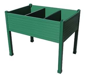 hochbeet 90x60x75 cm balkon terrassen farbe gr n k che haushalt. Black Bedroom Furniture Sets. Home Design Ideas