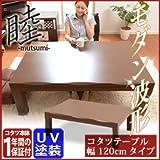 最高級UV塗装を施した天板は傷、汚れに強い レトロ家具