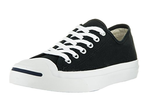 CONVERSE Women's Jack Purcell CP (Black/White 6.0 M) (Converse Jack Purcell White compare prices)