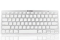 Sanoxy Wireless Bluetooth Keyboard for iPad/iOS/Android/Window Mobile/Symbian Smartphone/MAC/PC, Silver (SANOXY_BT-KB)