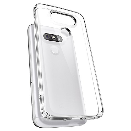 Spigen-Ultra-Hybrid-LG-G5-Case-with-Air-Cushion-Technology-and-Hybrid-Drop-Protection-for-LG-G5-2016-Crystal-Clear