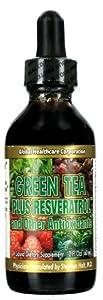 Global Healthcare Green Tea Plus ResveratrolTM and Other Antioxidants -- 2 fl oz