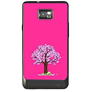Skin4gadgets Autumn Tree Colour - Medium Orchid Phone Skin for SAMSUNG GALAXY S2 (I9100)