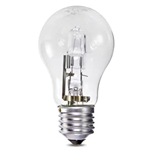 5 x Opus 70w = 100w GLS ES E27 Screw Cap Long Life Clear Eco Halogen Light Bulbs Dimmable Energy Saving Lamps Pack by Opus Lighting Technology