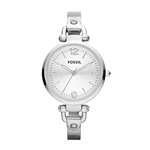 Fossil Damen-Armbanduhr XS Analog Edelstahl ES3083