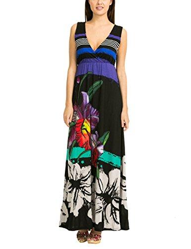 Desigual Damen A-Linie Kleid INFINITO REP, Gr. 36/S (Herstellergröße: M), Schwarz (Negro 2000) thumbnail