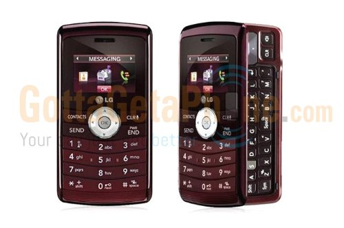 Verizon Lg Env3 Vx9200 No Contract 3G Qwerty Mp3 Camera Cell Phone Red