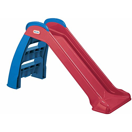 Toddler-Slide-And-Climber-Indoor-Outdoor-Climbers-Slides-For-Toddlers-Folds-For-Easy-Storage-Infant-Climbers-Kids-Playground-Backyard-Fun-Toys-Plastic-Folding-NEW