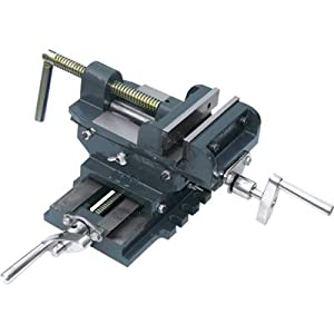Northern Industrial Cross Slide Drill Press Vise - 6in., [Misc.]