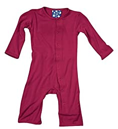 KicKee Pants Coverall, Orchid, 6-12 Months